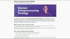Eleanor Beaton – Women Entrepreneurship Strategy
