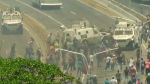 Venezuelan protesters opposing Maduro speak about how the demonstrations turned ugly