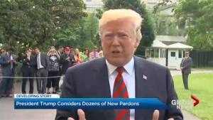 Trump considers dozens of new pardons