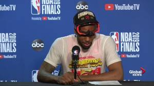 NBA Finals: Kawhi Leonard says he 'wanted to make history'