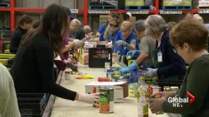 Food bank demand spiking across Canada