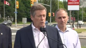 John Tory blasts Councilor Michael Layton for 'challenging his integrity'