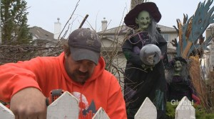 Struggling Calgarians hope skills learned volunteering at Halloween attraction will help them find jobs