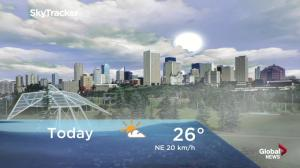 Edmonton early morning weather forecast: Wednesday, August 15, 2018
