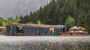 Coast Guard called to deal with another sinking barge in Squamish