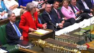 May's Brexit deal to go before parliament again, again