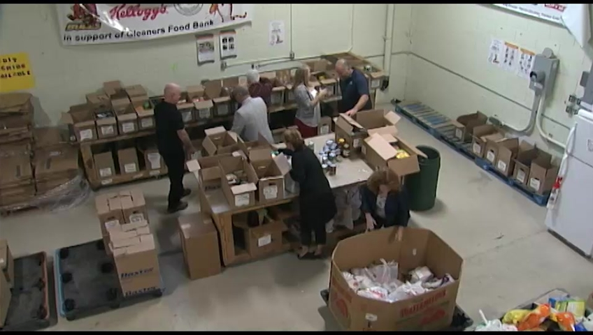 gleaners food bank warren