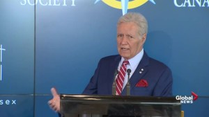 Alex Trebek says he had final chemotherapy treatment for cancer