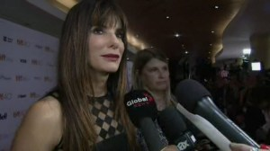 George Clooney, Sandra Bullock and Matt Damon walk the red carpet on day 2 of TIFF