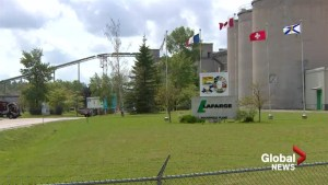 Petition, bill against Lafarge tire burning presented to N.S. government