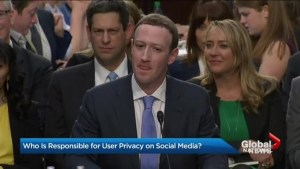Who is responsible for user privacy on social media?