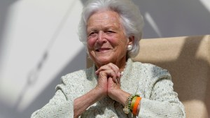 Barbara Bush, former first lady, dies at 92