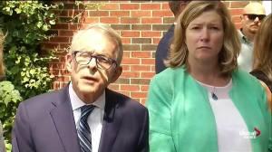 Ohio governor encourages people 'speak up' to prevent gun violence