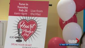 Heart Pledge Day at Edmonton's Mazankowski Heart Institute