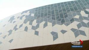 Public gets first look at new Central Library sculpture