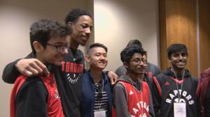 DeRozan receives book of supportive messages after opening up about depression (01:59)