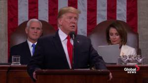 State of the Union: Trump asks Congress to 'choose greatness'