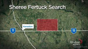 Search areas identified by homicide investigators trying to find Sheree Fertuck