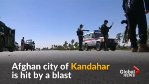 Blast in Afghanistan's Kandahar causes dozens of casualties