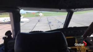 Hail storm causes Air Canada flight from Toronto to Calgary to divert to Lethbridge