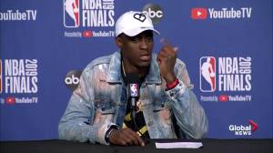 NBA Finals: Pascal Siakam talks about 'falling in the love with the game'