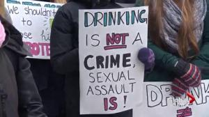 Protest held over Halifax judge's comments on consent and alcohol