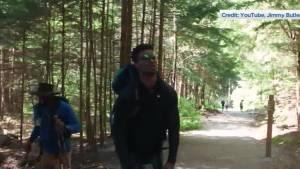 NBA star Jimmy Butler hikes the Stawamus Chief