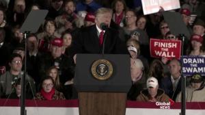 Trump says migrant caravan must go back home