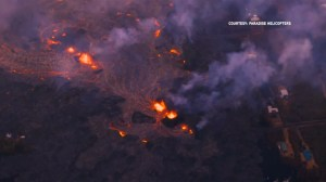 Lava flows from Hawaii volcano, consumes at least 82 homes