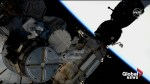 Astronauts begin series of spacewalks outside International Space Station