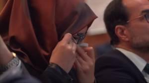 Jamal Khashoggi's fiancee says Riyadh responsible for murder, must explain