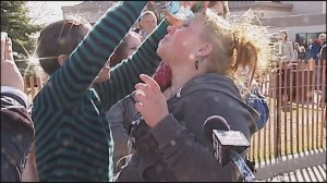 Teen pepper sprayed outside Donald Trump rally in Wisconsin