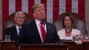 State of the Union: Members of Congress chant 'USA'