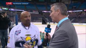 Grant Fuhr talks about Northlands Coliseum as Edmontonians get ready to say farewell to former home of the Oilers