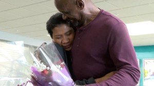 Father and daughter meet for first time after 50 year search