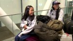 Woman, daughter who sheltered Edward Snowden in Hong Kong arrive in Toronto