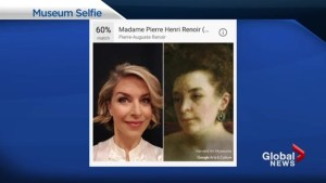 Which famous portrait does your face resemble?