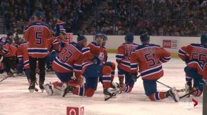 Hockey is for Everyone event at the Edmonton Oilers game