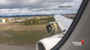 Air France passenger jet makes emergency landing in Goose Bay, N.L. after engine blows