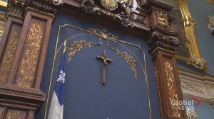 Will the crucifix stay in the National Assembly?