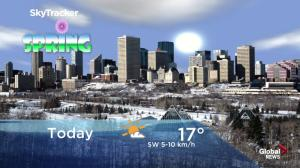 Edmonton early morning weather forecast: Wednesday, March 20, 2019
