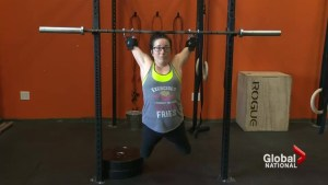 Halifax woman without full arms, legs inspires others to hit the gym