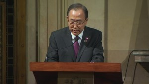 UN's Ban Ki-moon impressed by Montreal students