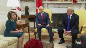 Trump, Pelosi argue in the Oval Office during photo op