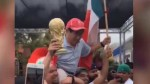 Mexico fans dance 'Gangnam style' in California streets after South Korea World Cup win