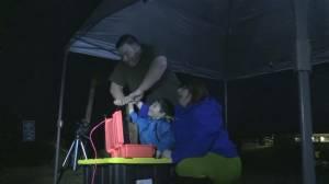 Nova Scotia family has explosive baby gender reveal