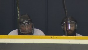 Hockey helps recovering addicts stay on clean path