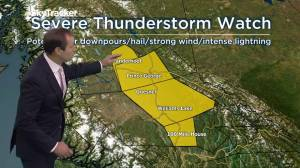 B.C. weather forecast for Wednesday, July 17, 2019
