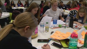 Calgary teens open up about anxiety at mental health summit