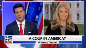 Kellyanne Conway says 'fix was in' for Trump as Fox News airs 'coup in America?' segment